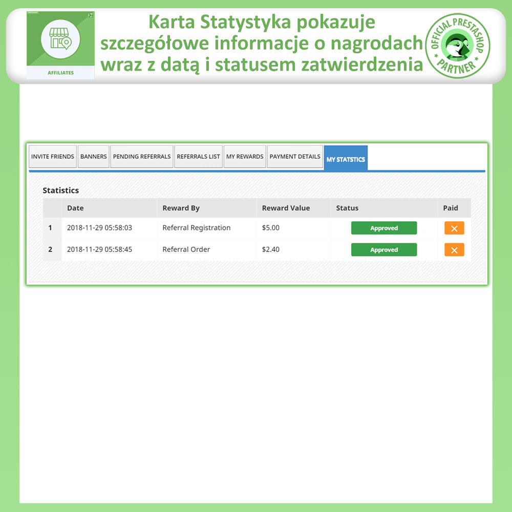module - Płatne pozycjonowanie & Afiliacja - Program Partnerski i Polecający - 10