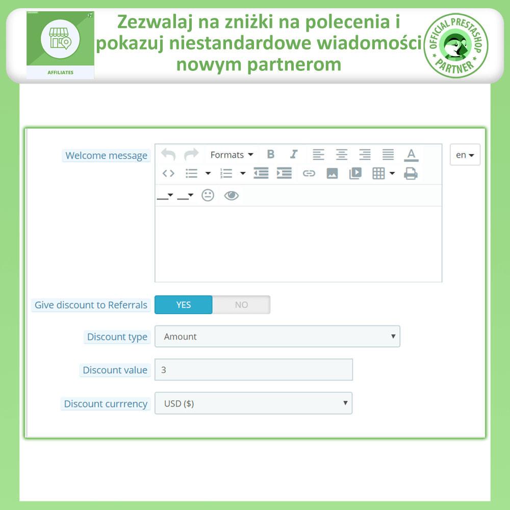 module - Płatne pozycjonowanie & Afiliacja - Affiliate i program poleceń - 13