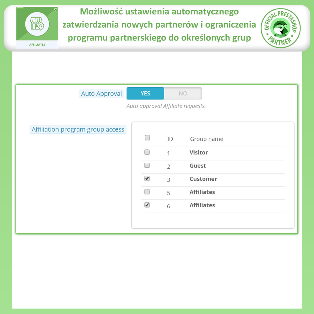 module - Płatne pozycjonowanie & Afiliacja - Affiliate i program poleceń - 14