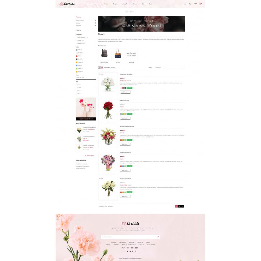 theme - Prezenty, Kwiaty & Uroczystości - Orchid - Flower Market - 4