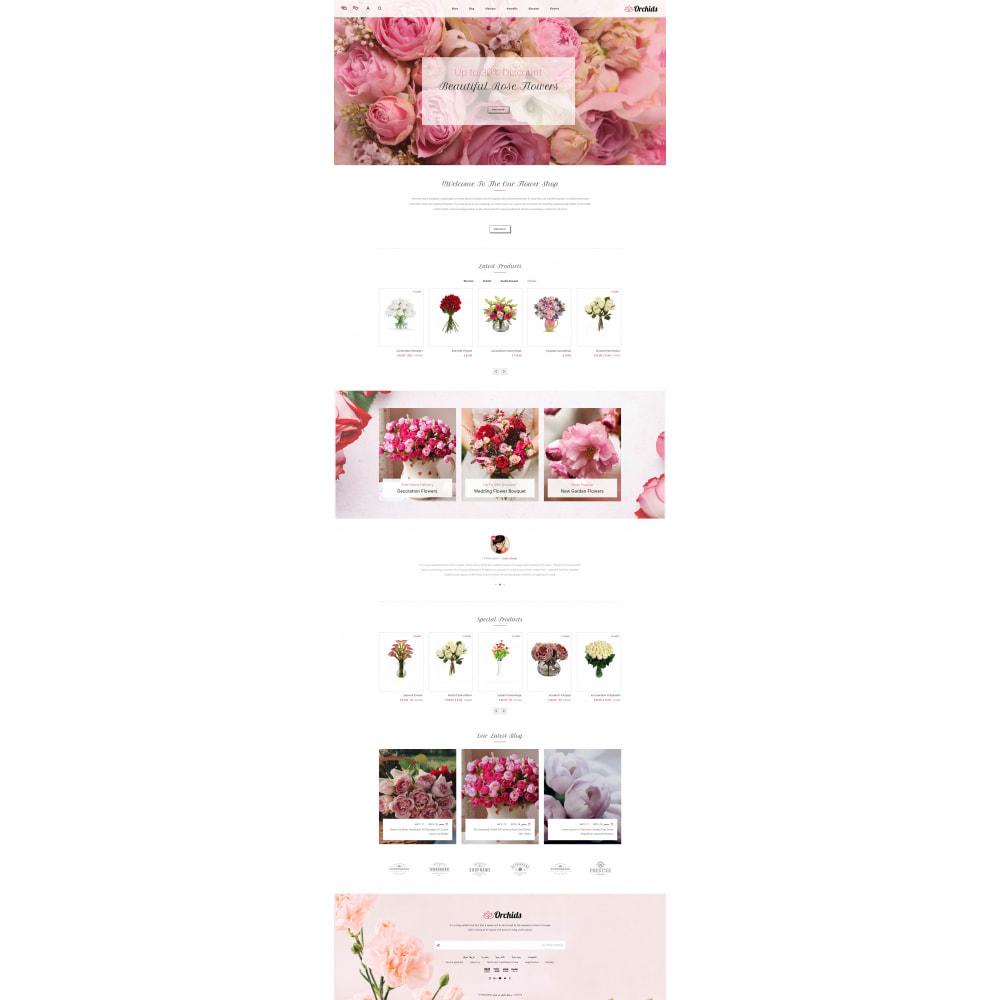 theme - Prezenty, Kwiaty & Uroczystości - Orchid - Flower Market - 10