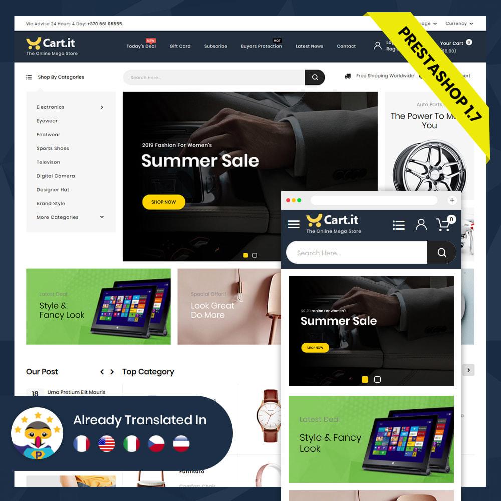 theme - Mode & Schoenen - Cart.It - Online Megashop Store - 4
