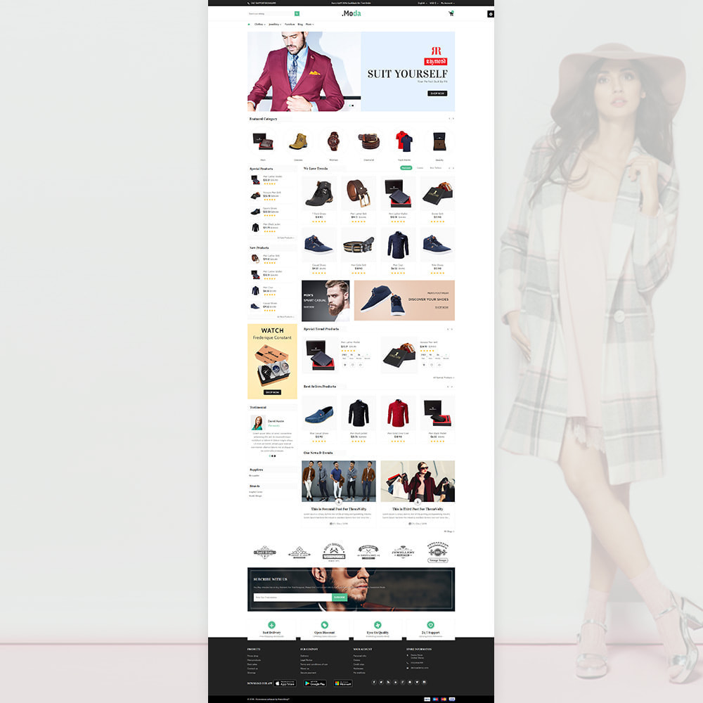 theme - Mode & Schoenen - Moda - The Fashion Store - 2