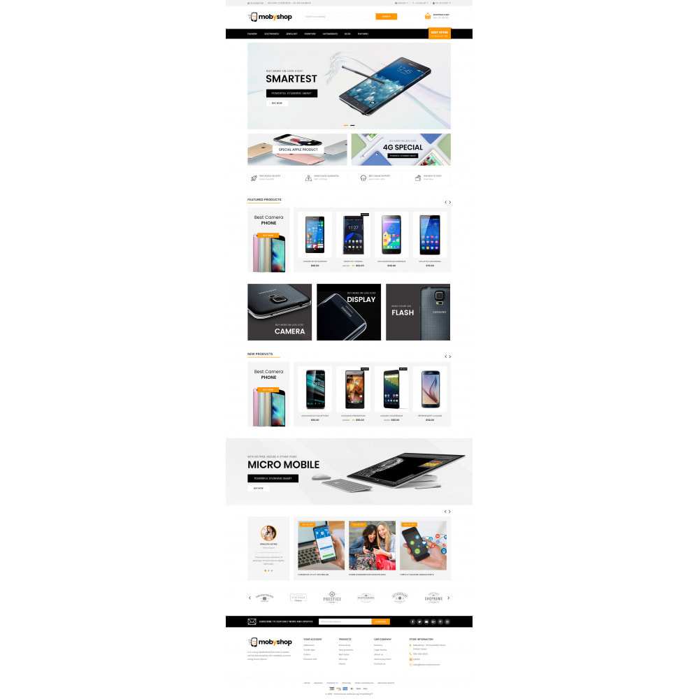 theme - Eletrônicos & High Tech - Mobyshop - Online Mobile Store - 2