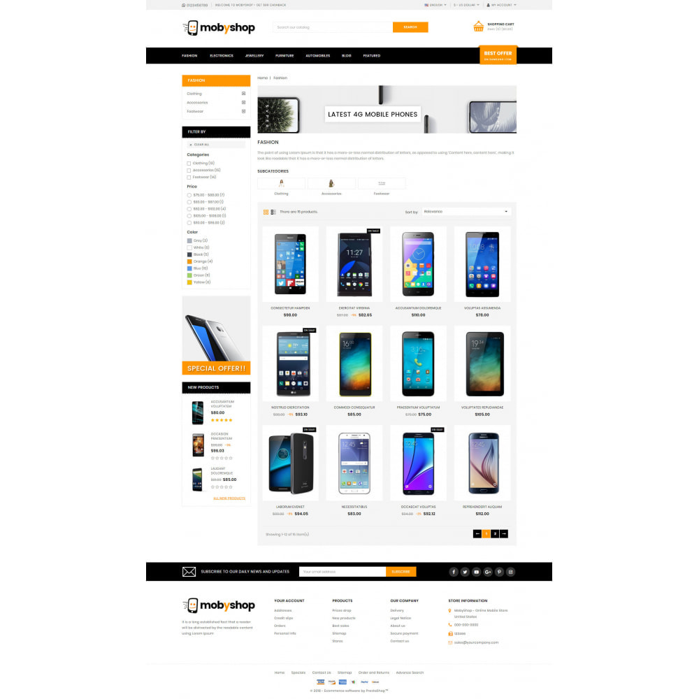 theme - Eletrônicos & High Tech - Mobyshop - Online Mobile Store - 3