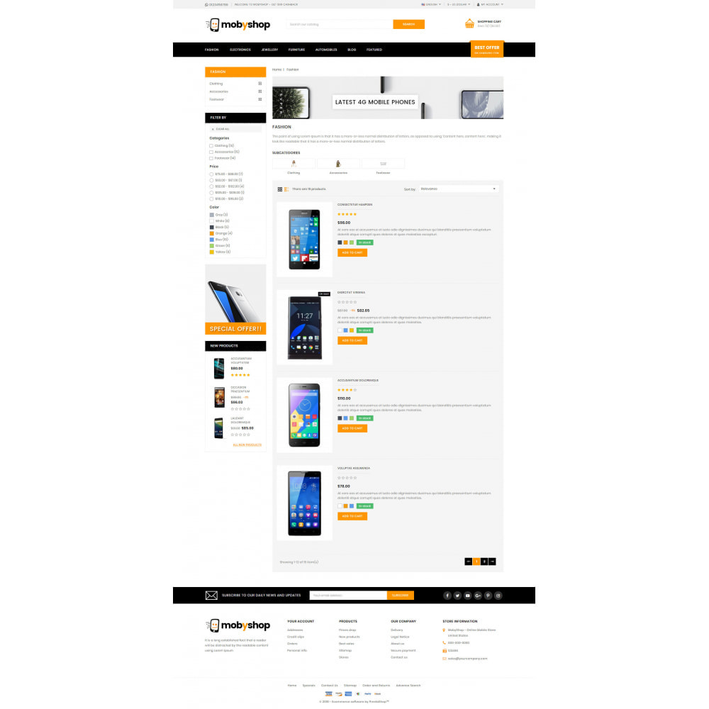 theme - Eletrônicos & High Tech - Mobyshop - Online Mobile Store - 4