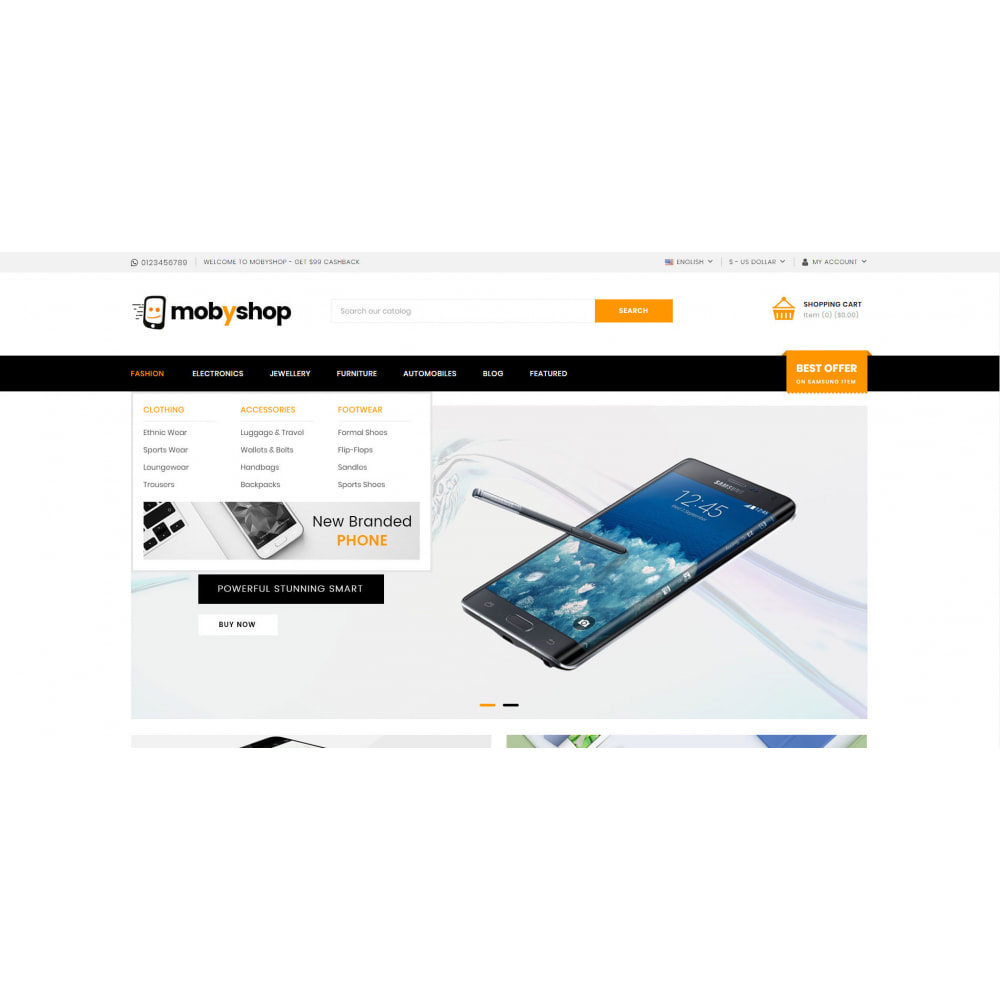 theme - Eletrônicos & High Tech - Mobyshop - Online Mobile Store - 6