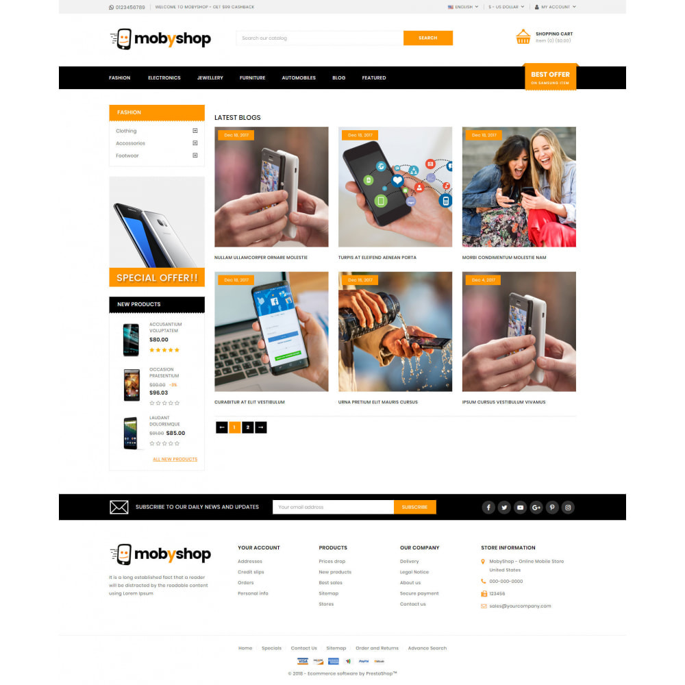 theme - Eletrônicos & High Tech - Mobyshop - Online Mobile Store - 9