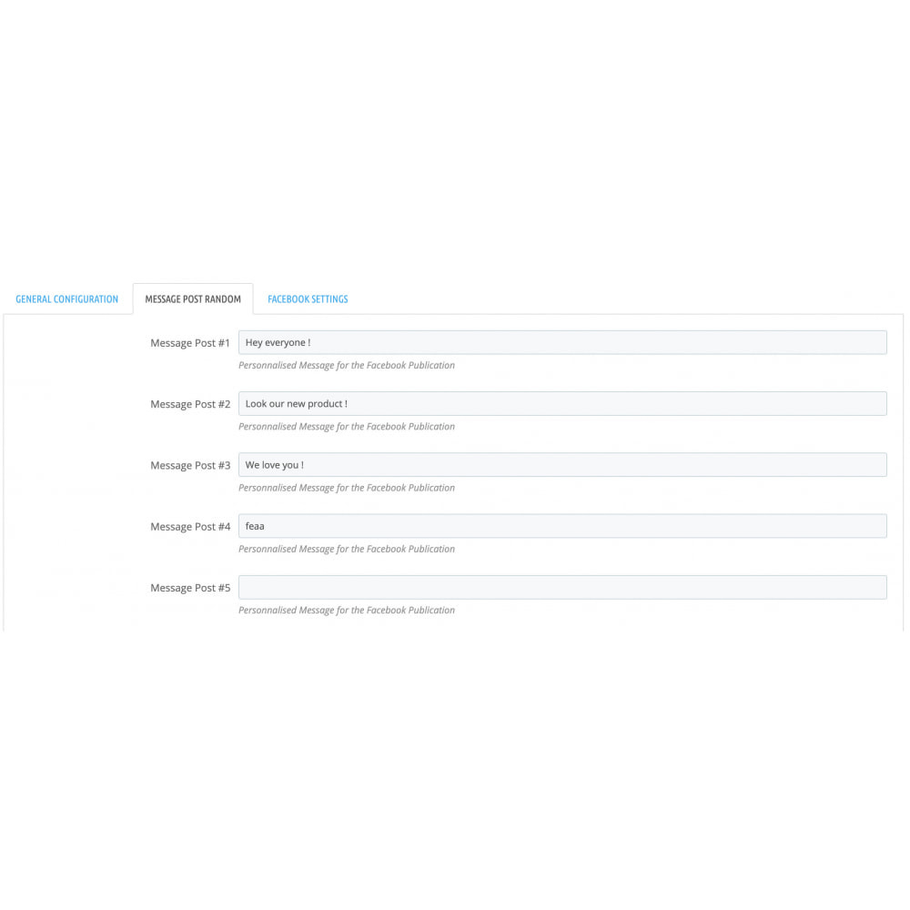 module - Produits sur Facebook & réseaux sociaux - Auto-Post Produits sur FB Wall - 3