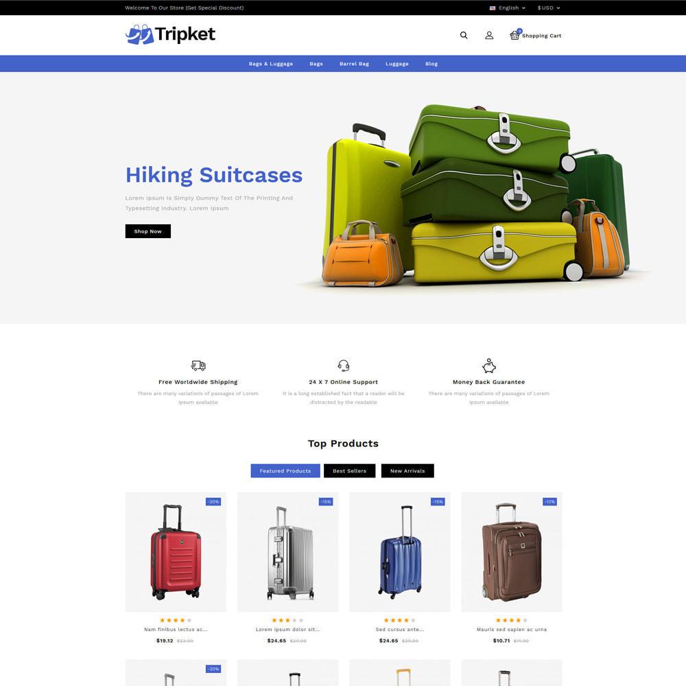 theme - Fashion & Shoes - Tripket - Bag Shop - 2
