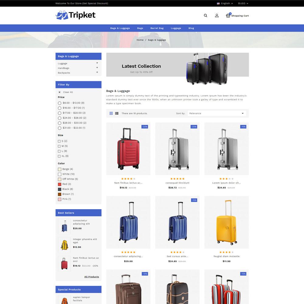 theme - Fashion & Shoes - Tripket - Bag Shop - 3