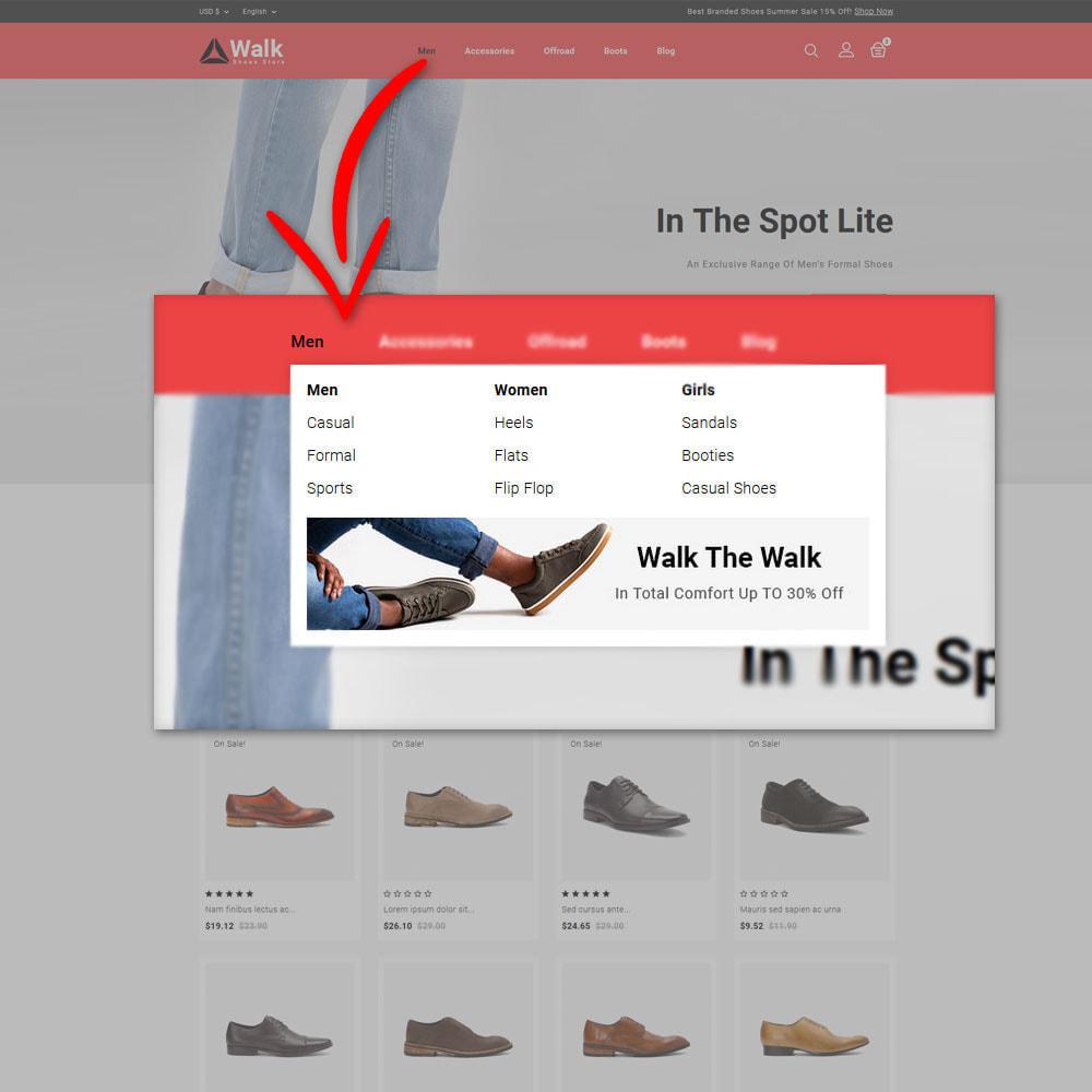 theme - Fashion & Shoes - Walk - Shoes Store - 7