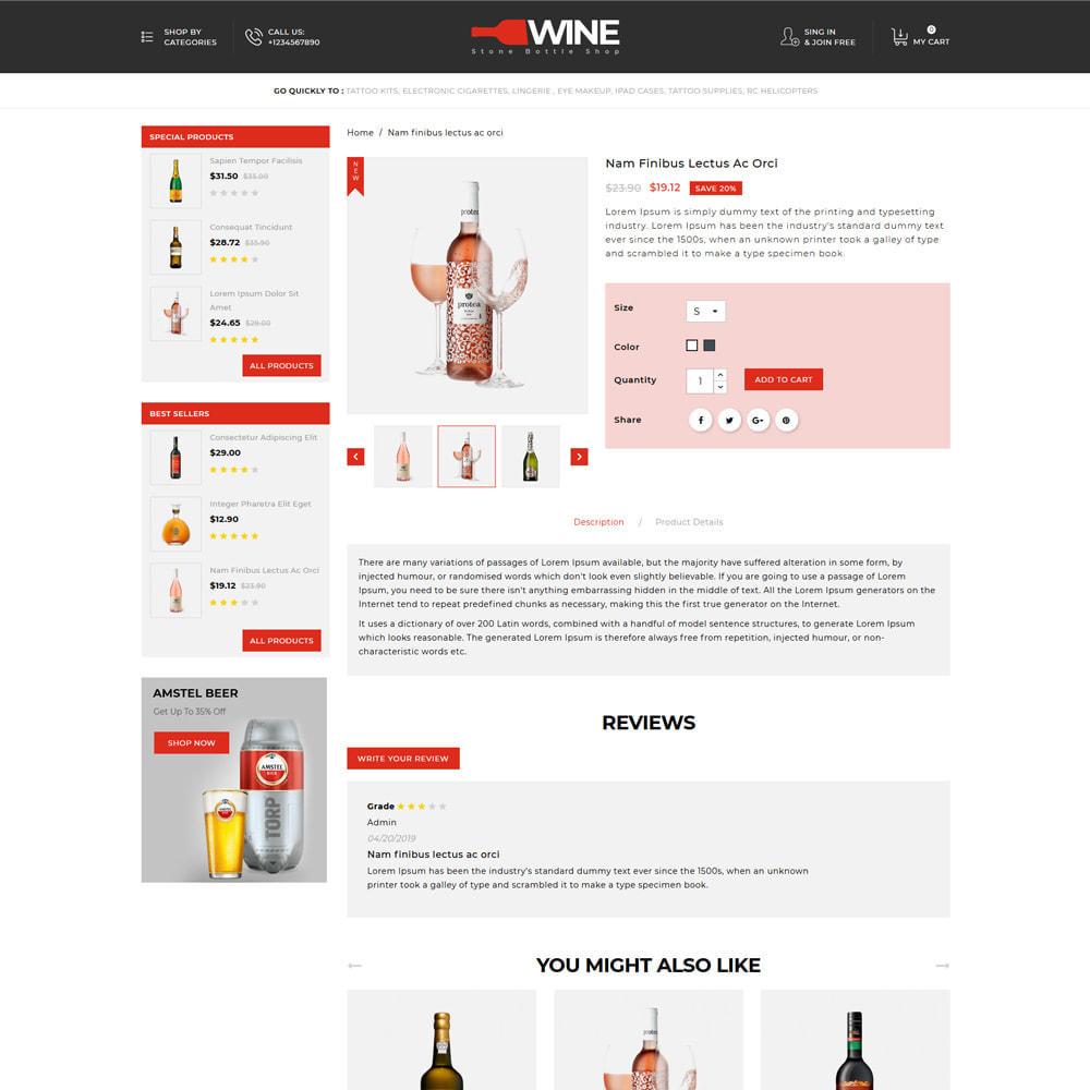 theme - Drink & Tobacco - Winestone - Liquor Shop - 4
