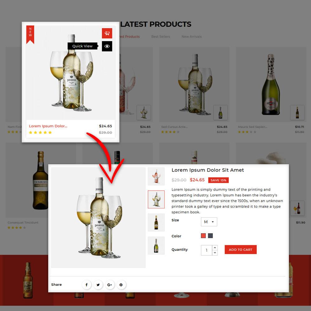 theme - Drink & Tobacco - Winestone - Liquor Shop - 7