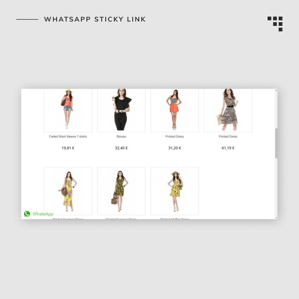 module - Dispositivos móviles - WhatsApp Sticky Link - 2