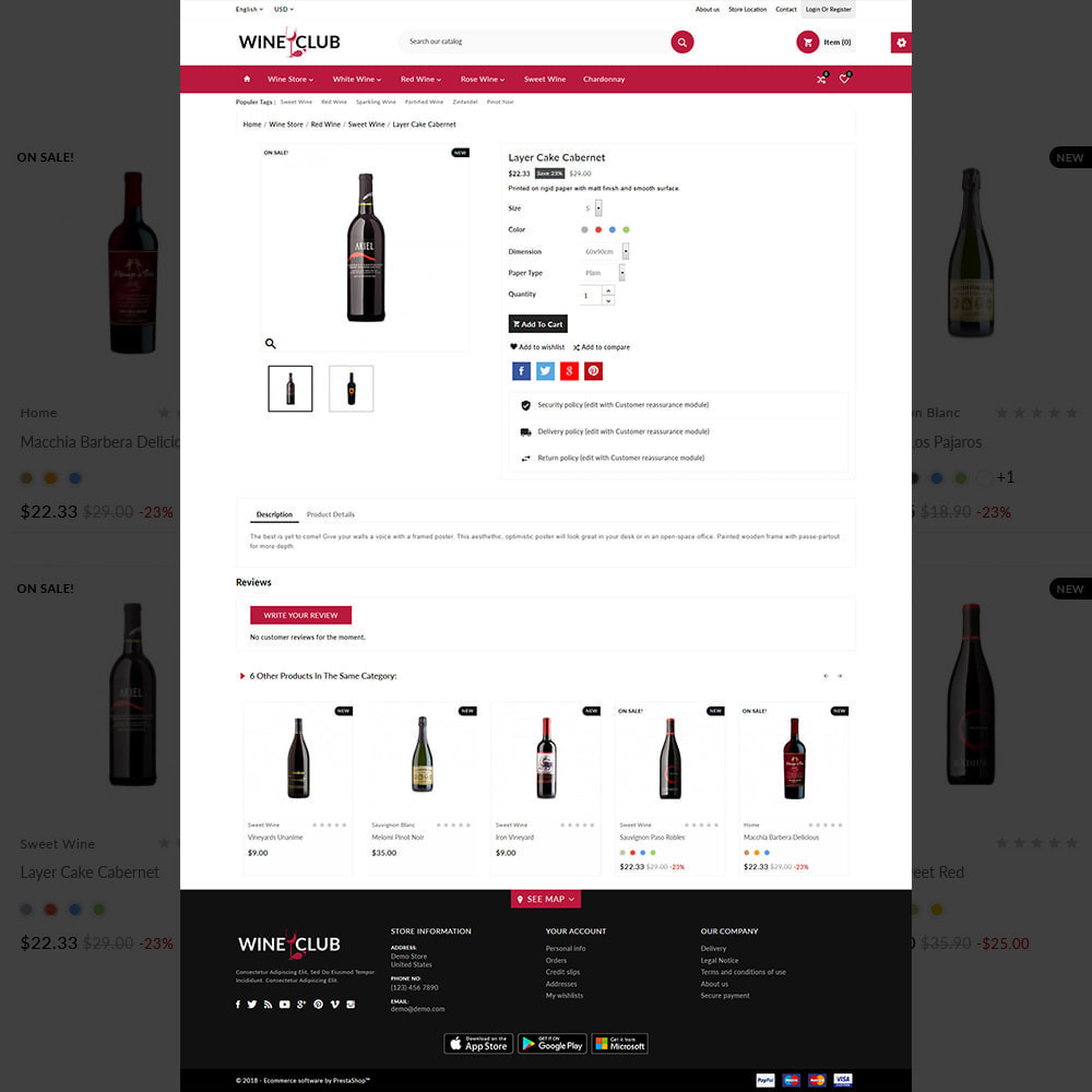 theme - Drink & Tobacco - Red Wine & Beer Shop - 5