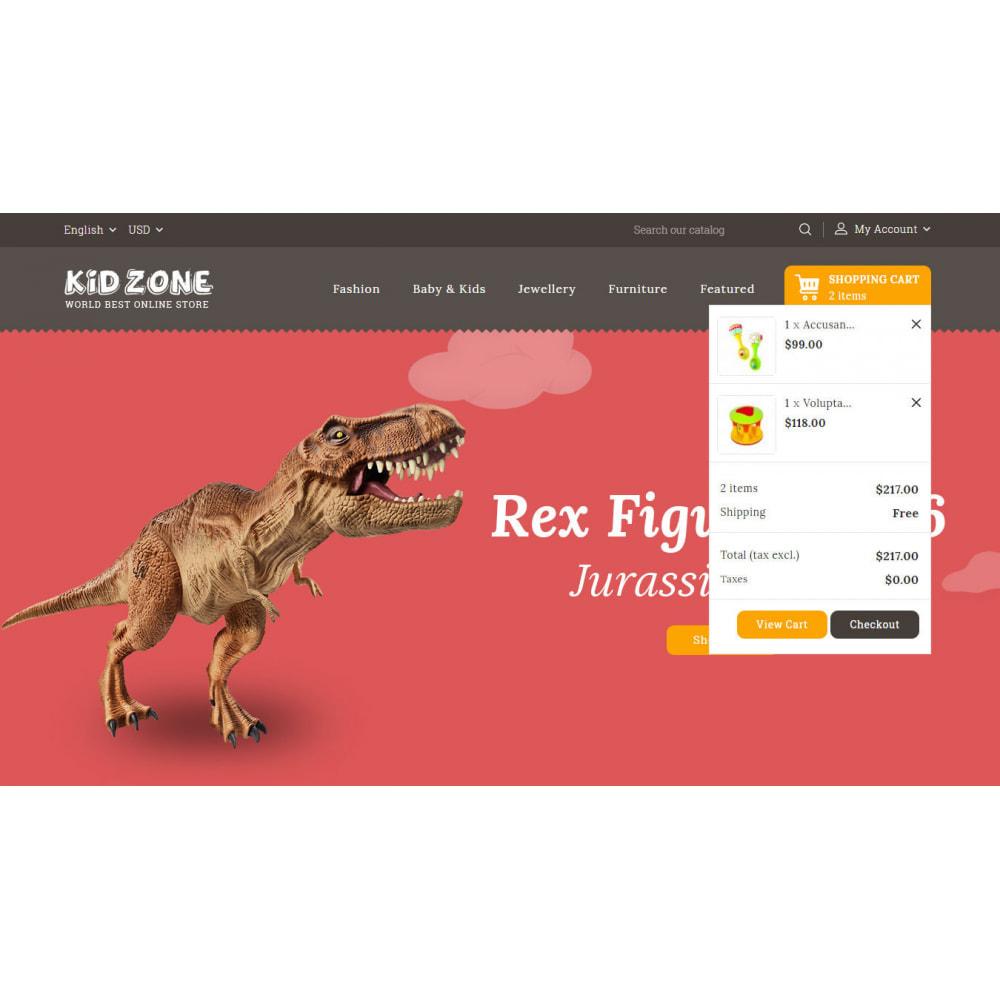theme - Kids & Toys - Kid Zone Online Store - 8