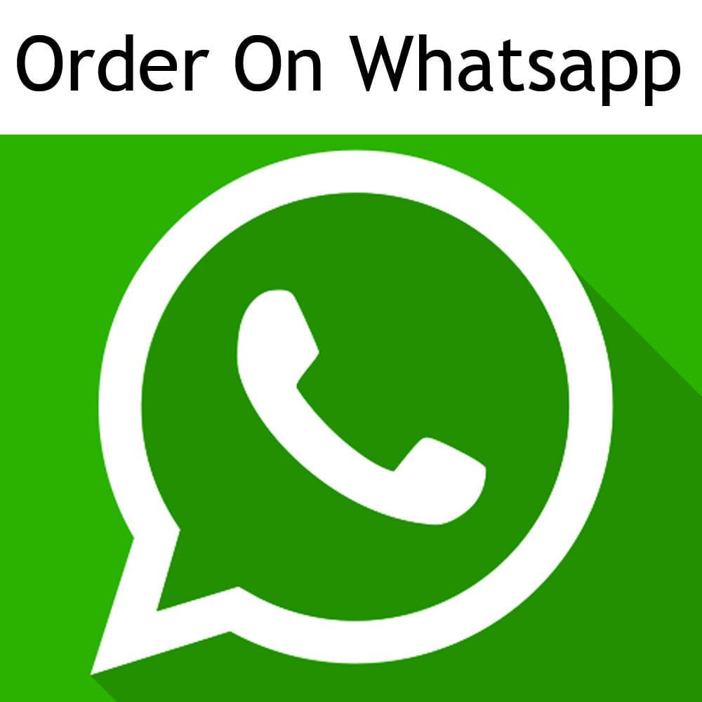 module - Inscripción y Proceso del pedido - Ordene en whatsapp desde cualquier página de categoría - 1