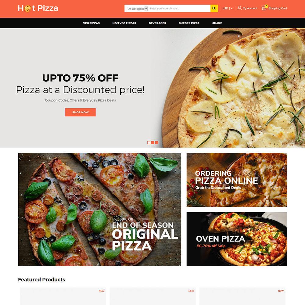 theme - Cibo & Ristorazione - Burger Organic Food - Restaurant Pizza Store - 2