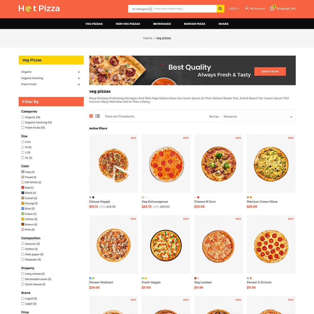 theme - Cibo & Ristorazione - Burger Organic Food - Restaurant Pizza Store - 3