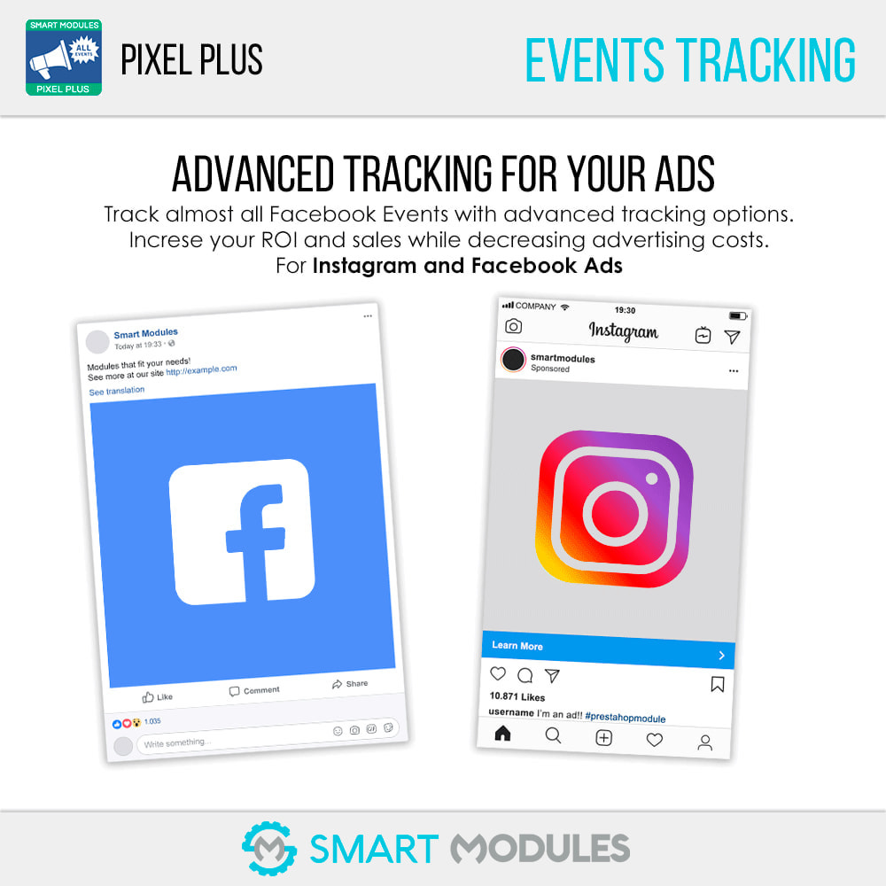 module - Analytics & Statistics - Pixel Plus: Event tracking + Pixel Catalogue - 1