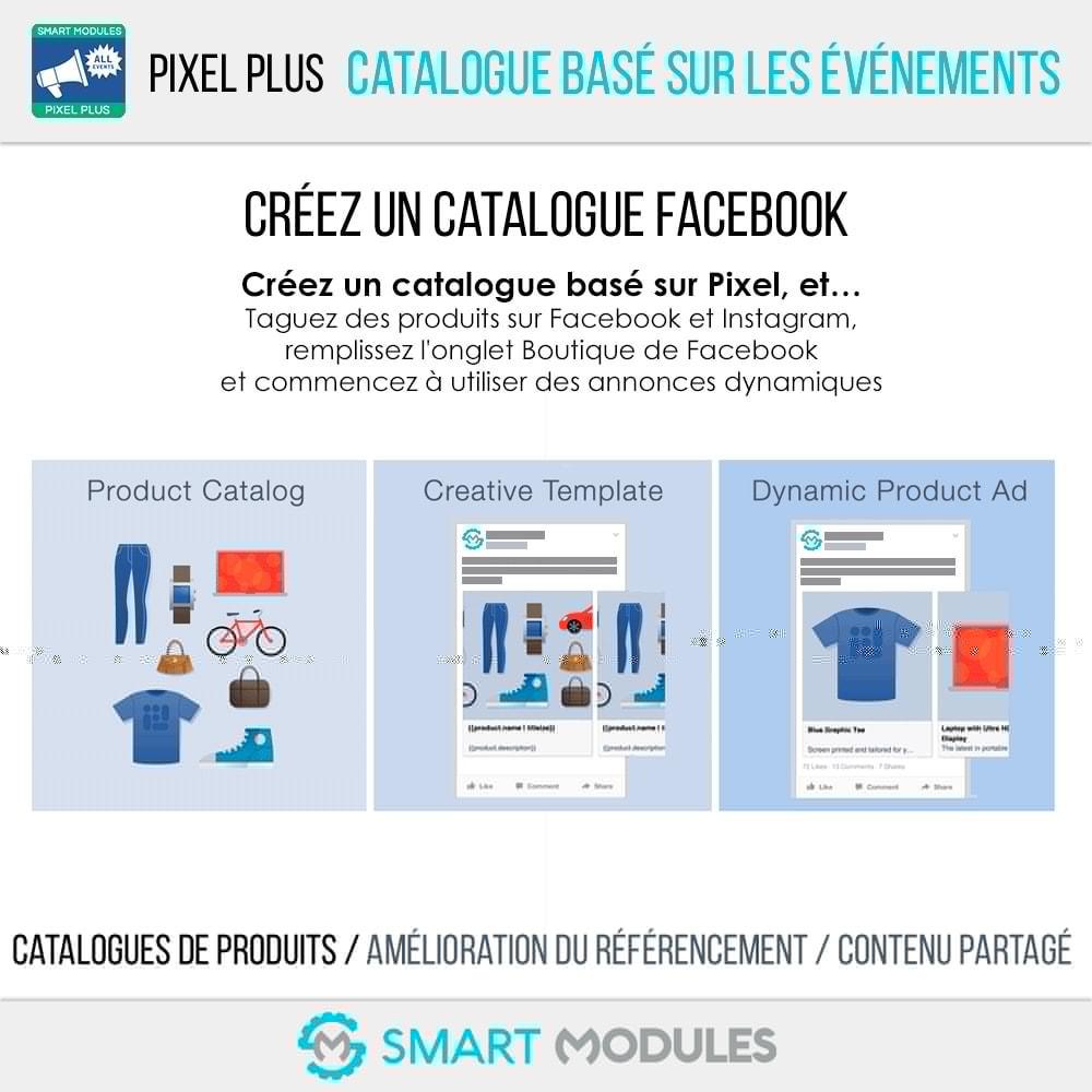 module - Analyses & Statistiques - Pixel Plus : Suivi des Événements + Catalogue Pixel - 7