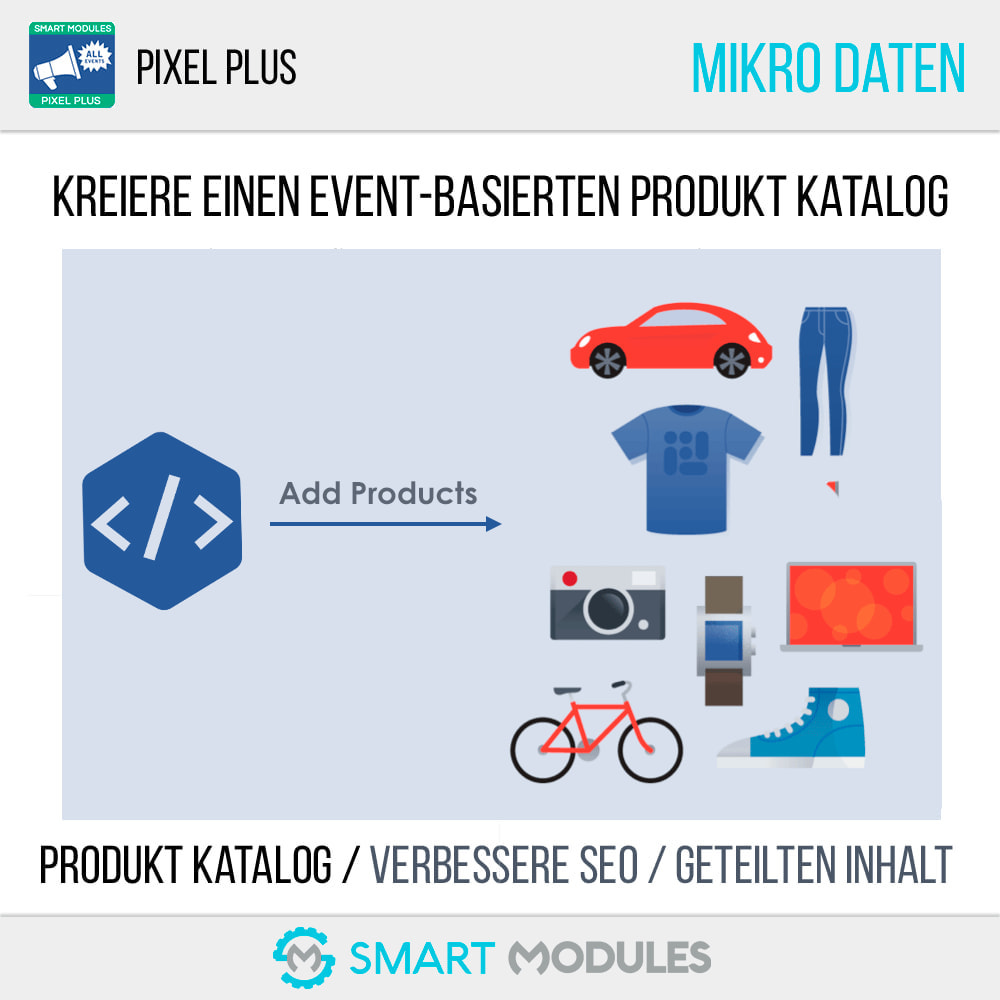 module - Analysen & Statistiken - Pixel Plus: Events Tracking + Pixel Katalog - 6