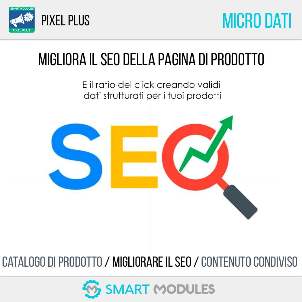 module - Analytics & Statistiche - Pixel Plus: Conversioni ed Eventi + Catalogo Pixel - 8