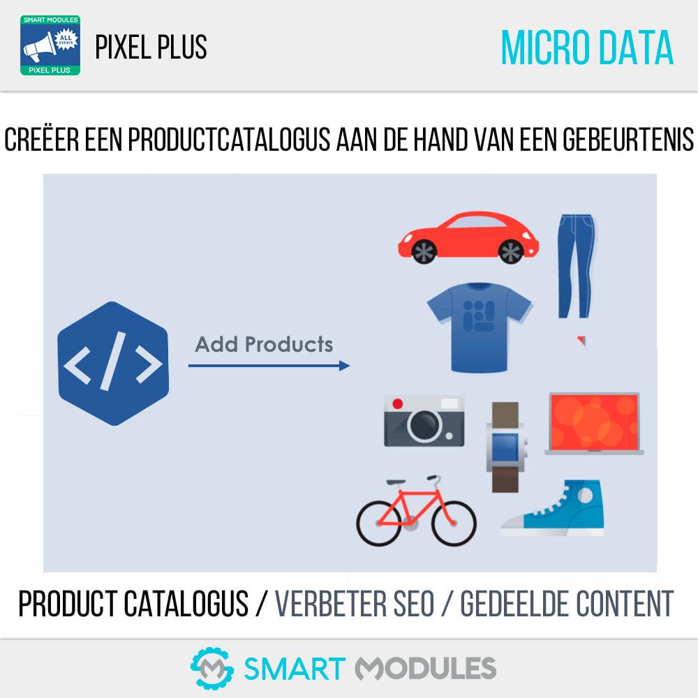 module - Analyses & Statistieken - Pixel Plus: Alle Evenementen + pixelcatalogus - 6