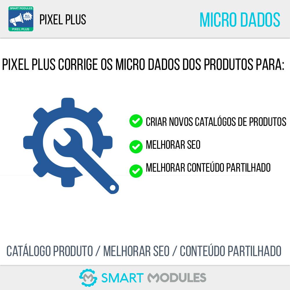 module - Análises & Estatísticas - Pixel Plus: Acompanhamento de eventos + Catálogo Pixel - 5