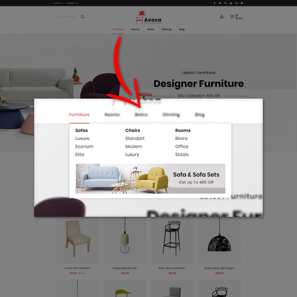 theme - Casa & Giardino - Avoca - Furniture Store - 6