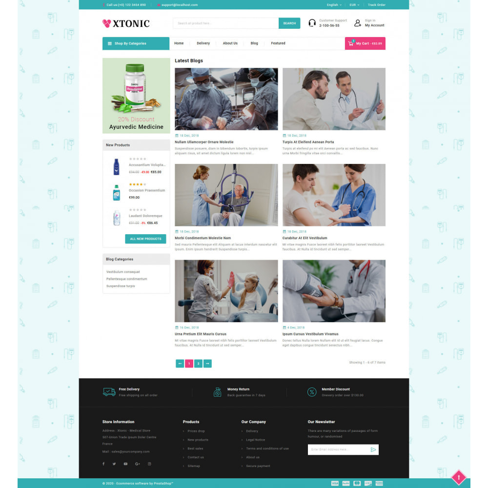 theme - Health & Beauty - Xtonic - Medicine Store - 9