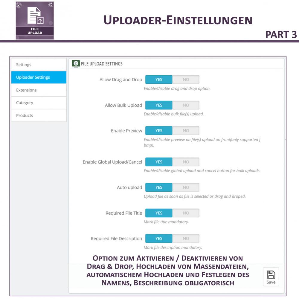 module - Zusatzinformationen & Produkt-Tabs - Datei-Upload durch den Kunden - 10