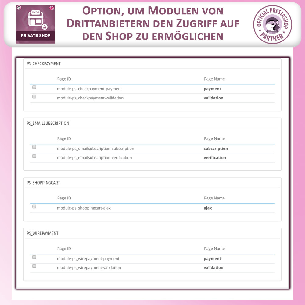 module - Flash & Private Sales - Privater Shop - Login, um Den Store zu Sehen - 17