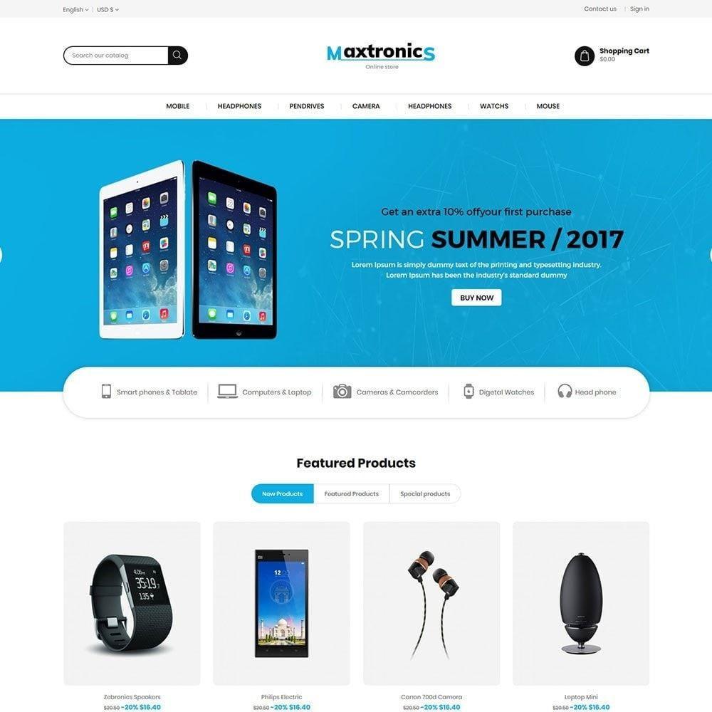 theme - Elettronica & High Tech - Maxtronics Mobile - Digital Electronics Store - 2