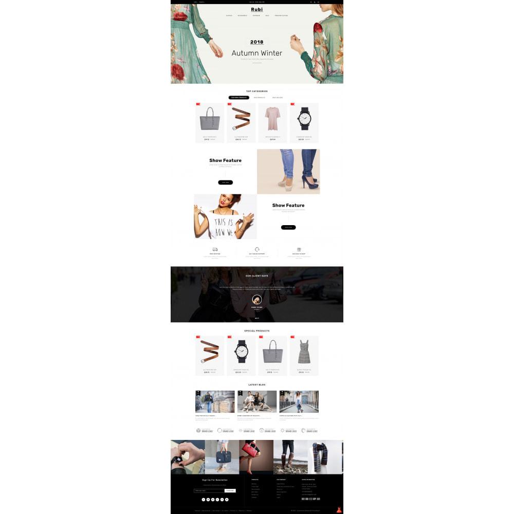 theme - Moda & Calçados - Rubi - Apparel Store - 2