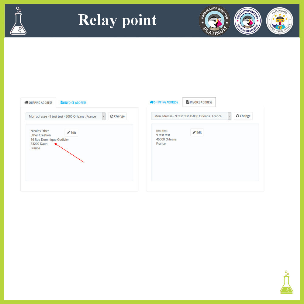 module - Abholstationen & Selbstabholer - Manage your relay points - 7
