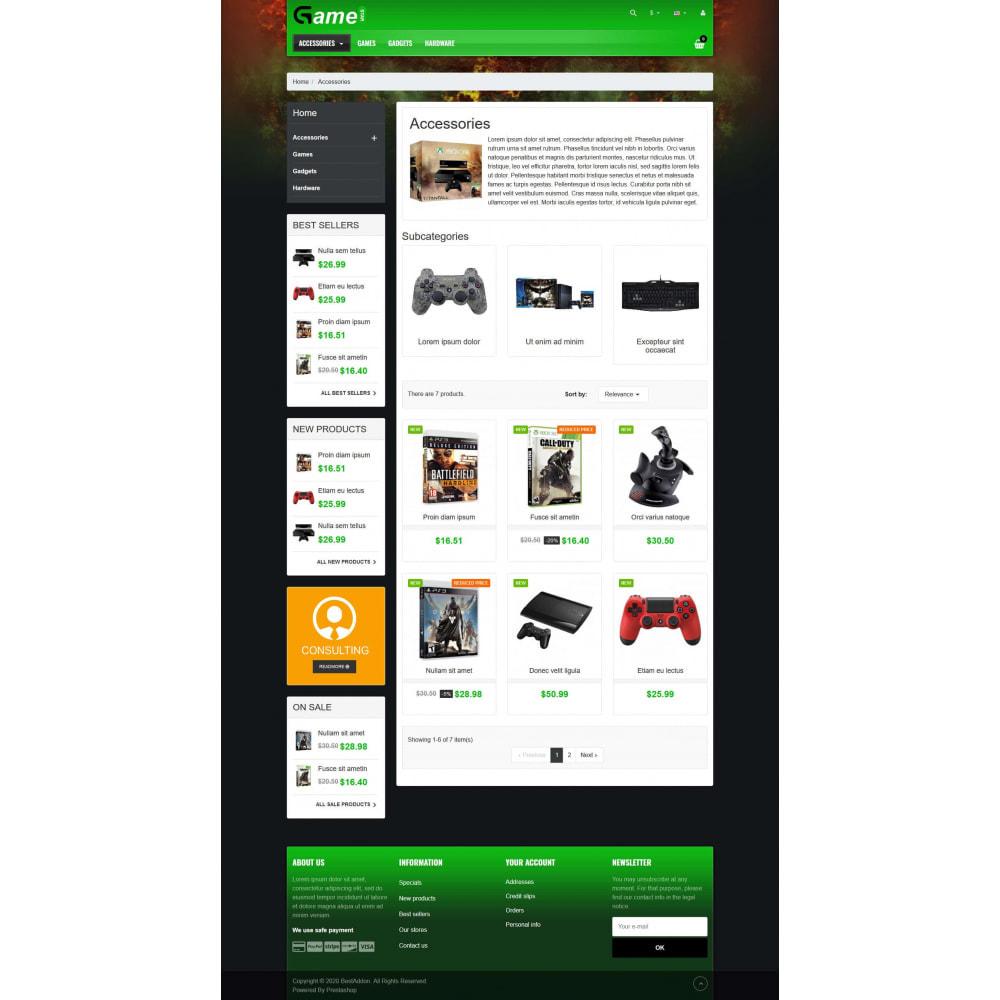 theme - Electrónica e High Tech - VP_Gamestar - Page Builder - 3