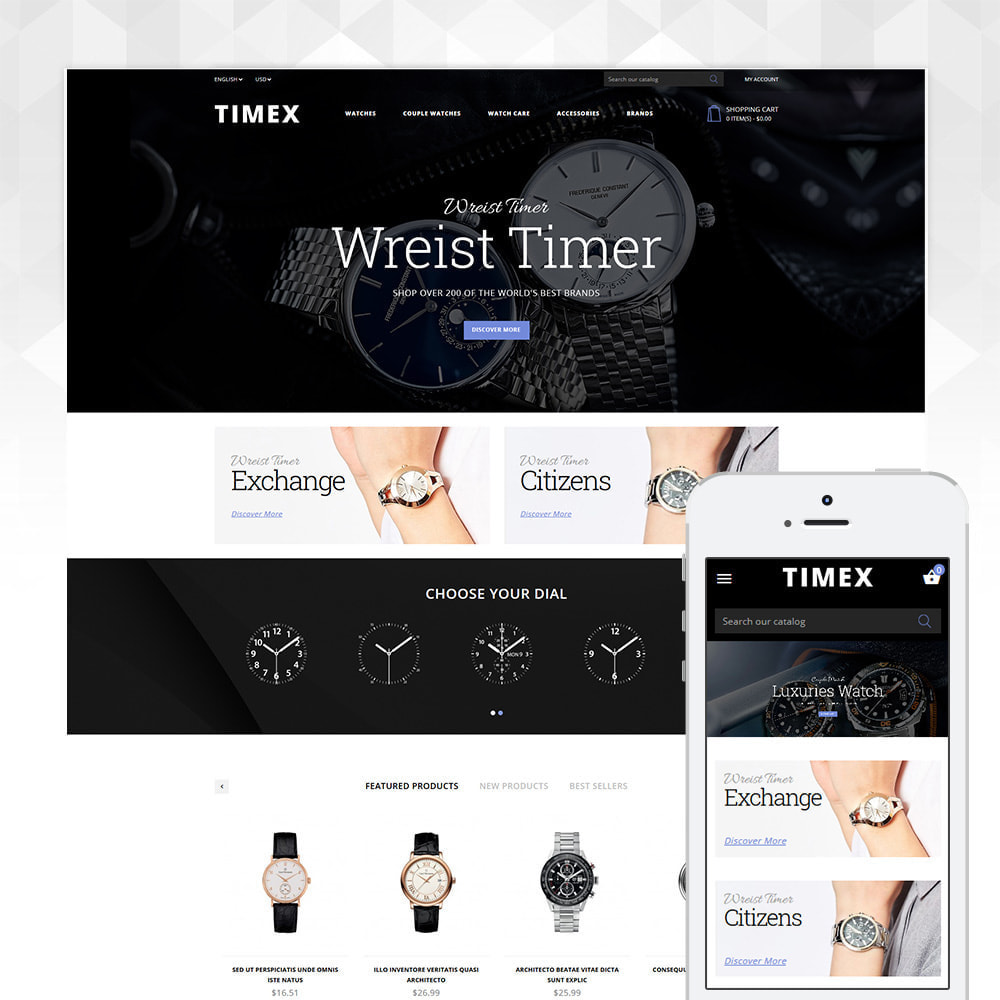 theme - Jewelry & Accessories - Timex Watch Store - 1