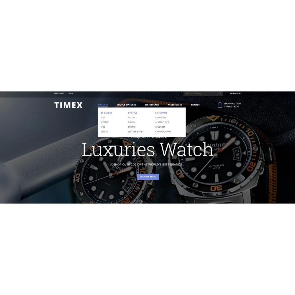 theme - Jewelry & Accessories - Timex Watch Store - 6