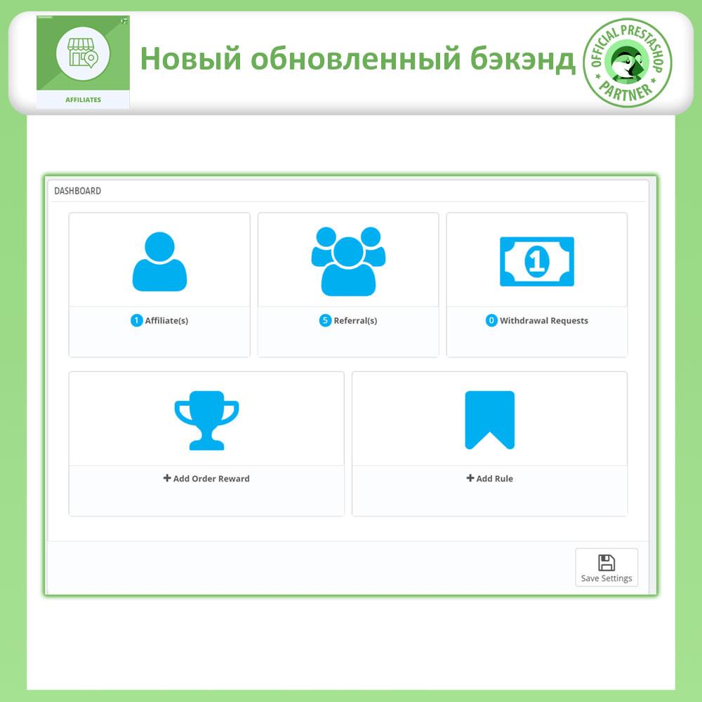 module - Платная поисковая оптимизация - Партнерская и реферальная программа - 12