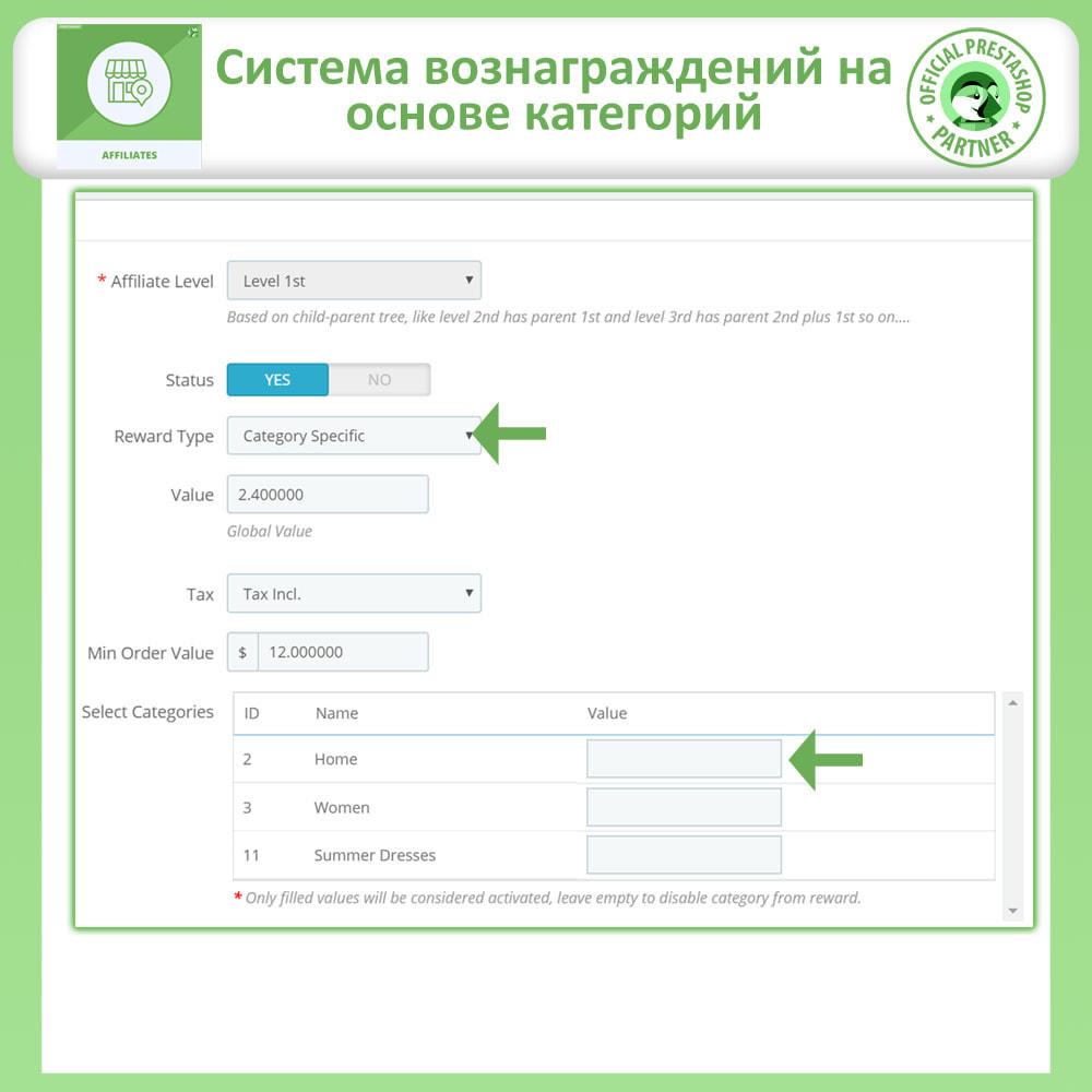 module - Платная поисковая оптимизация - Партнерская и реферальная программа - 21
