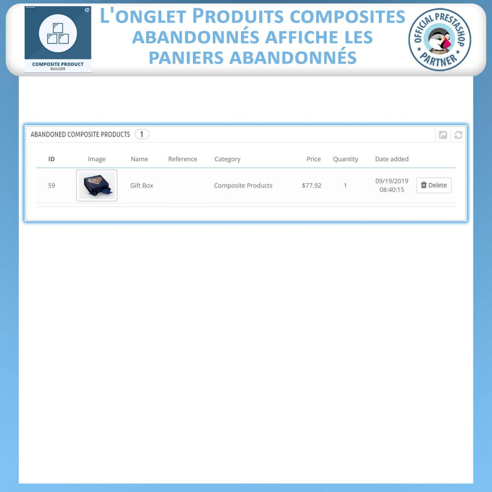 module - Ventes croisées & Packs de produits - Composite Produit Constructeur - 12
