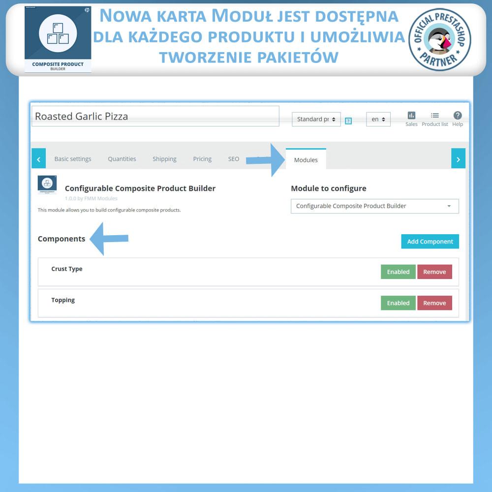 module - Sprzedaż krzyżowa & Pakiety produktów - Konstruktor Produktów Kompozytowych - 8