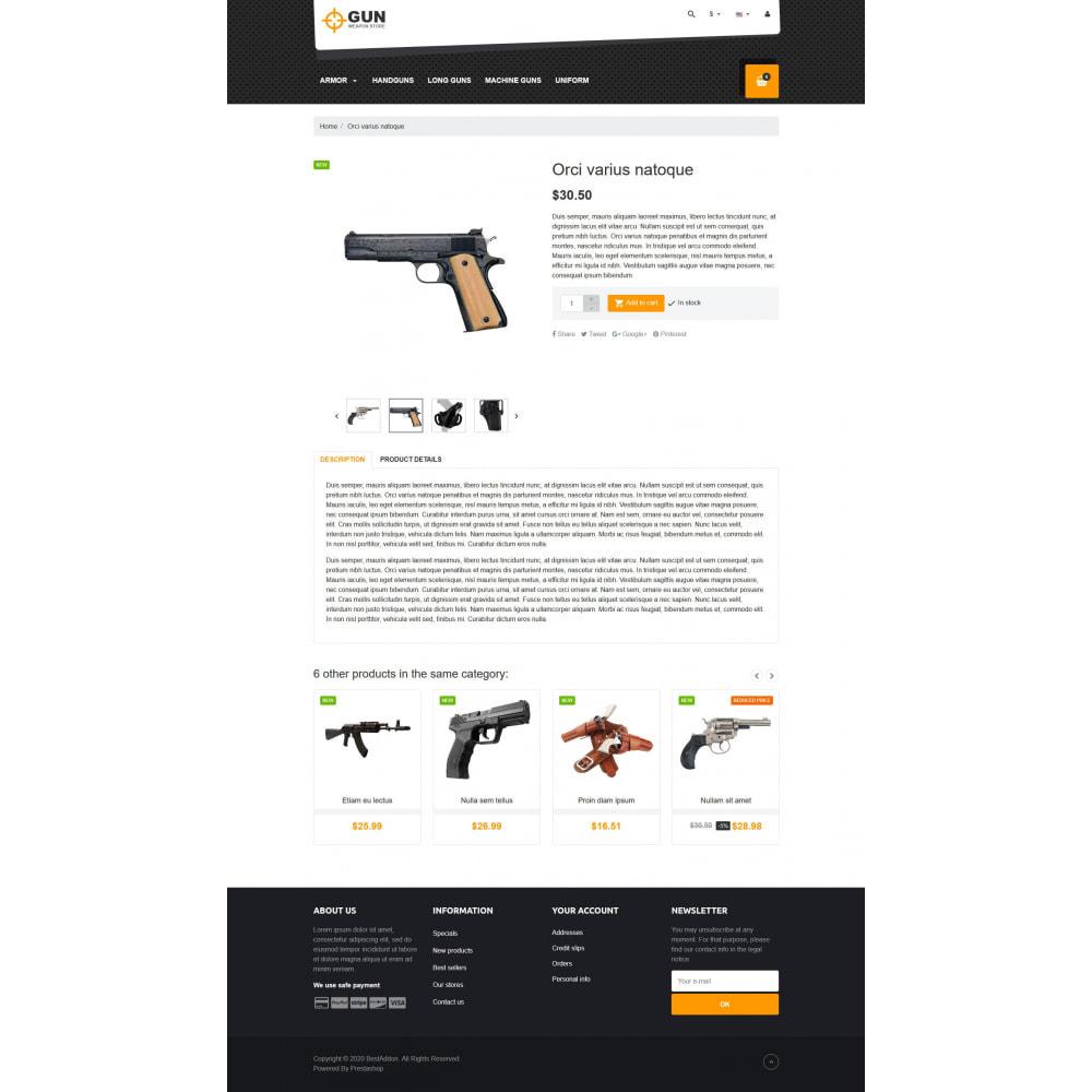 theme - Arte e Cultura - VP_Gun - Page Builder - 4