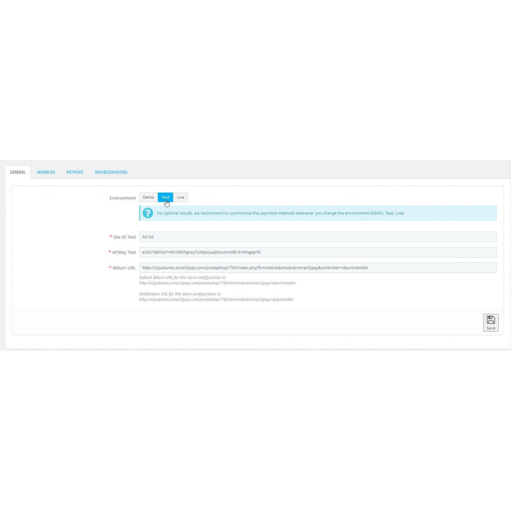 module - Pagamento con Carta di Credito o Wallet - Smart2Pay - 4