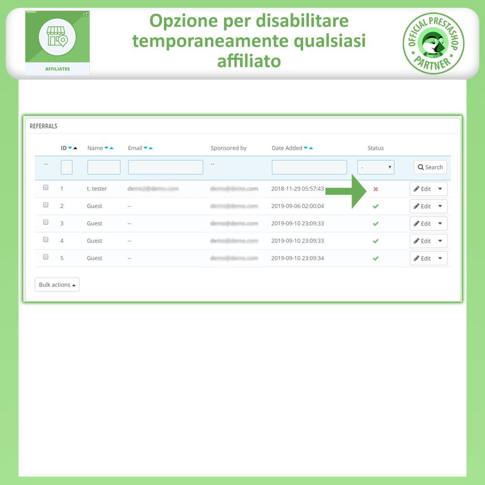 module - Indicizzazione a pagamento (SEA SEM) & Affiliazione - Affiliati e programma referral - 17