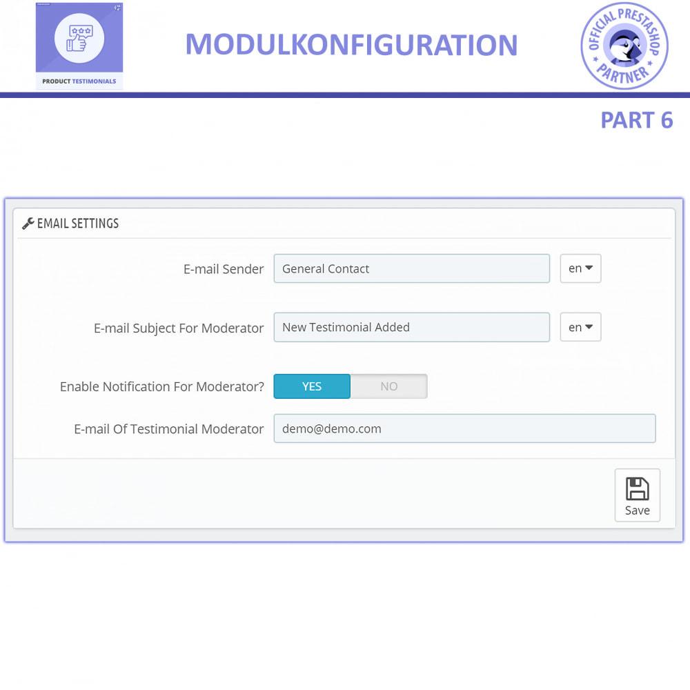module - Kundenbewertungen - Kunden Produktbewertungen + Shop Bewertungen - 13