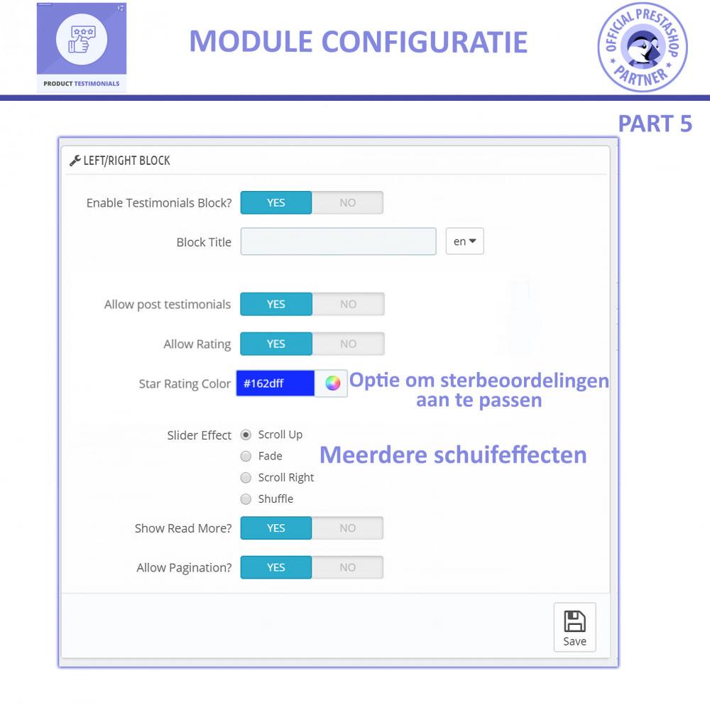 module - Klantbeoordelingen - Klant Productbeoordelingen + Getuigenissen van Winkels - 12