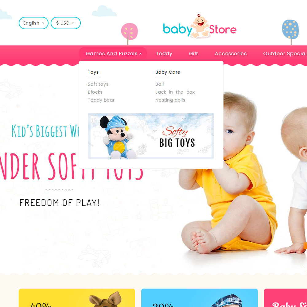 theme - Kids & Toys - Baby Toy Store - 9